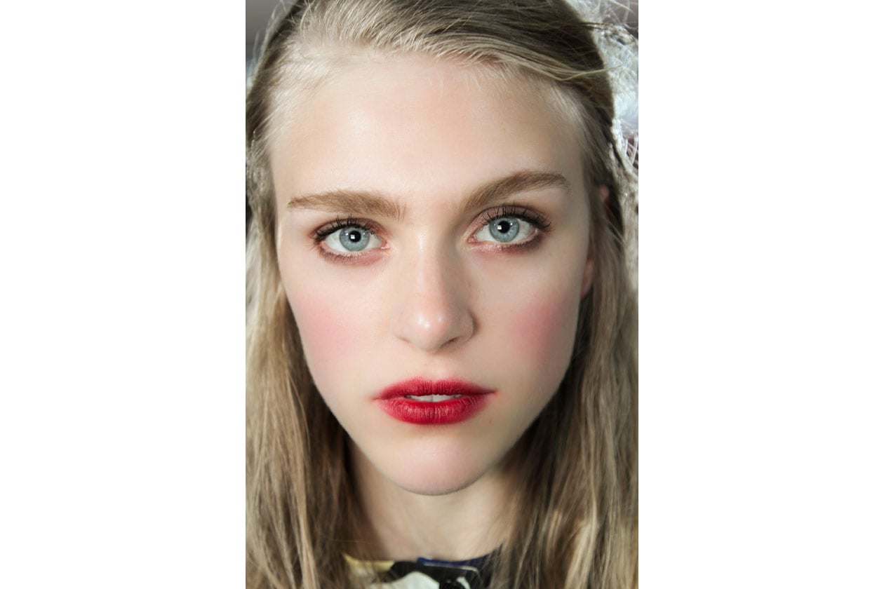 Trend make up S/S 2015: smudge lips