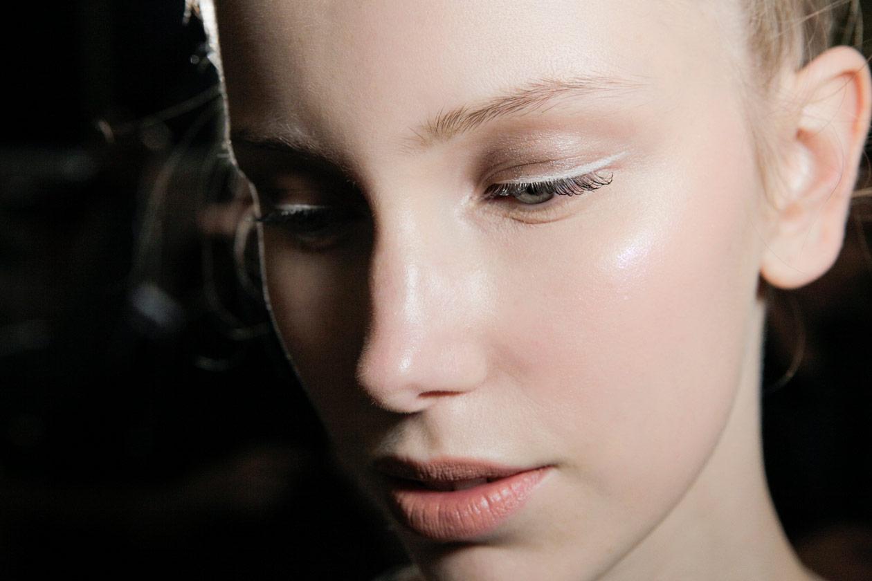 Trend make up S/S 2015: white eyeliner