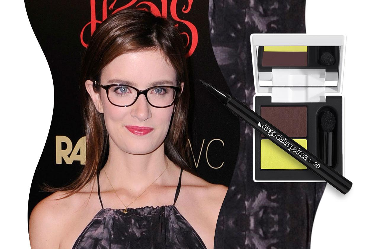 Trucco con gli occhiali: Anna Wood