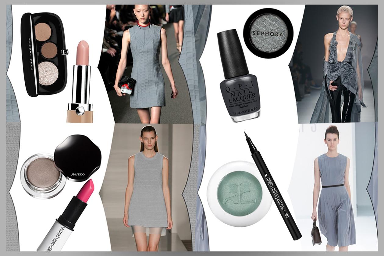 Trucco grigio: gli abbinamenti Beauty&Fashion di Grazia.it