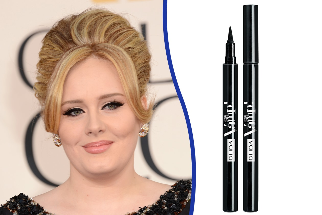 Trucco occhi piccoli: Adele