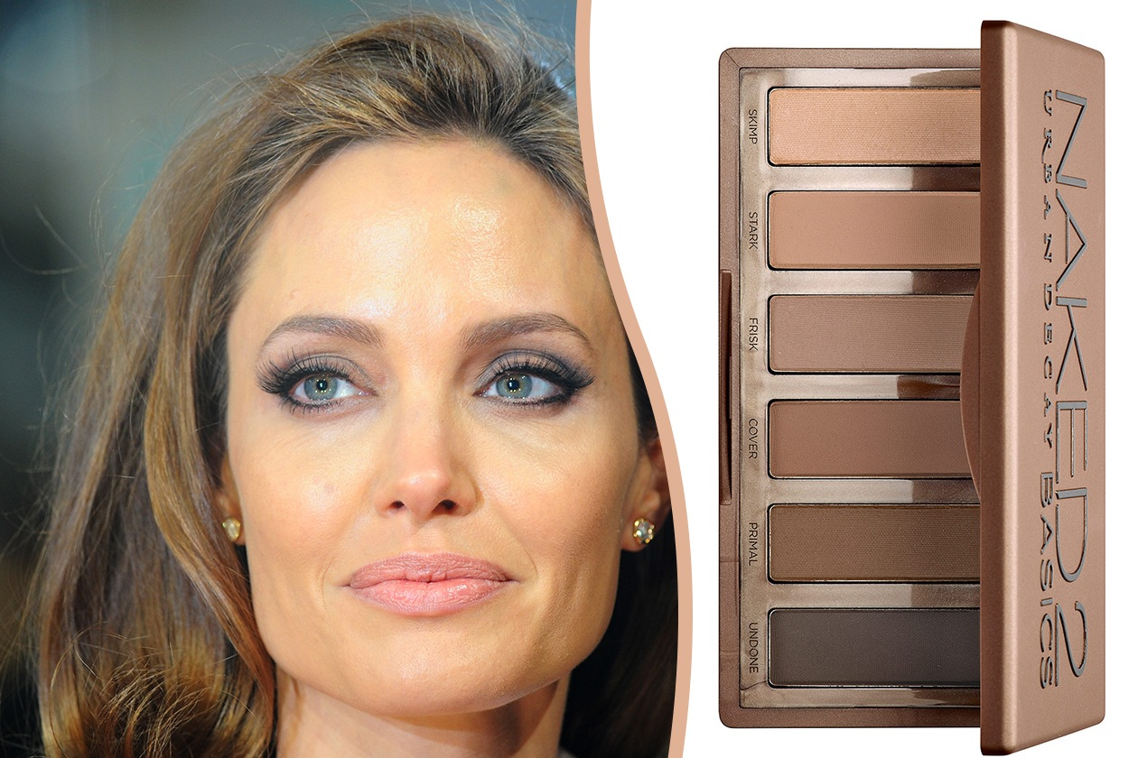 Trucco occhi piccoli: Angelina Jolie