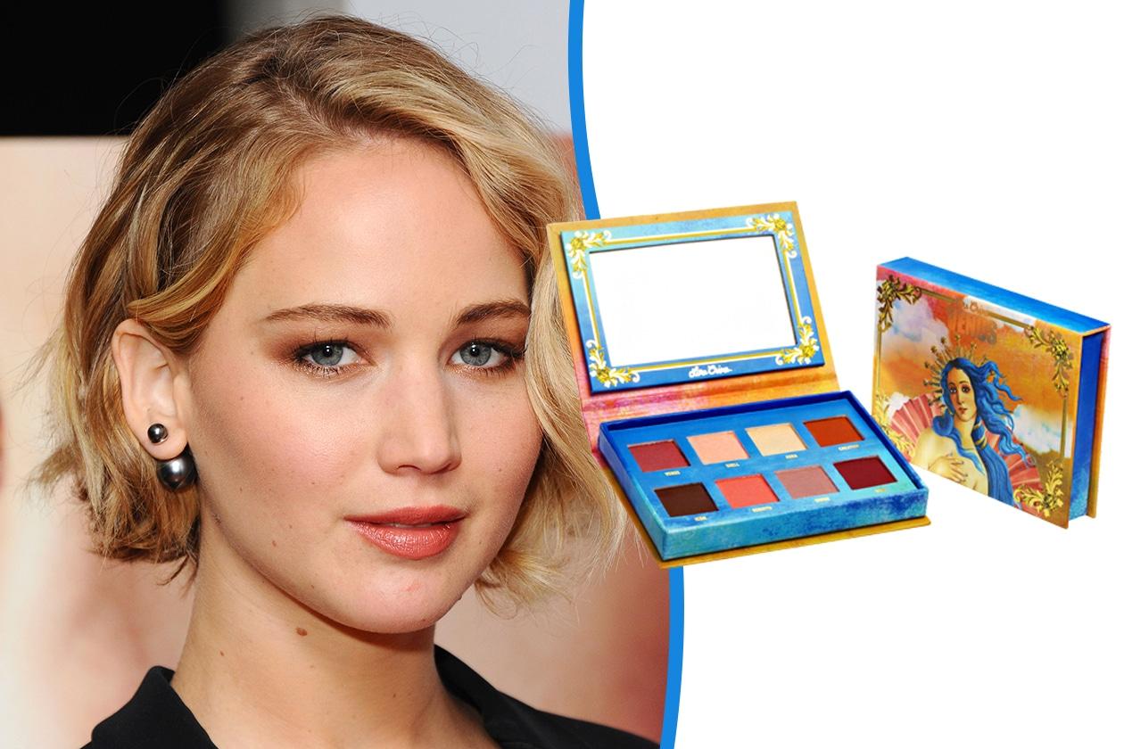 Trucco occhi piccoli: Jennifer Lawrence