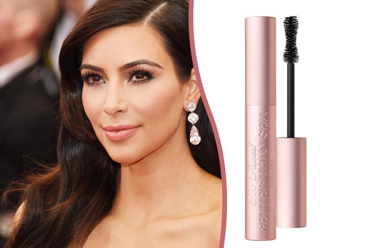 Trucco occhi piccoli: Kim Kardashian