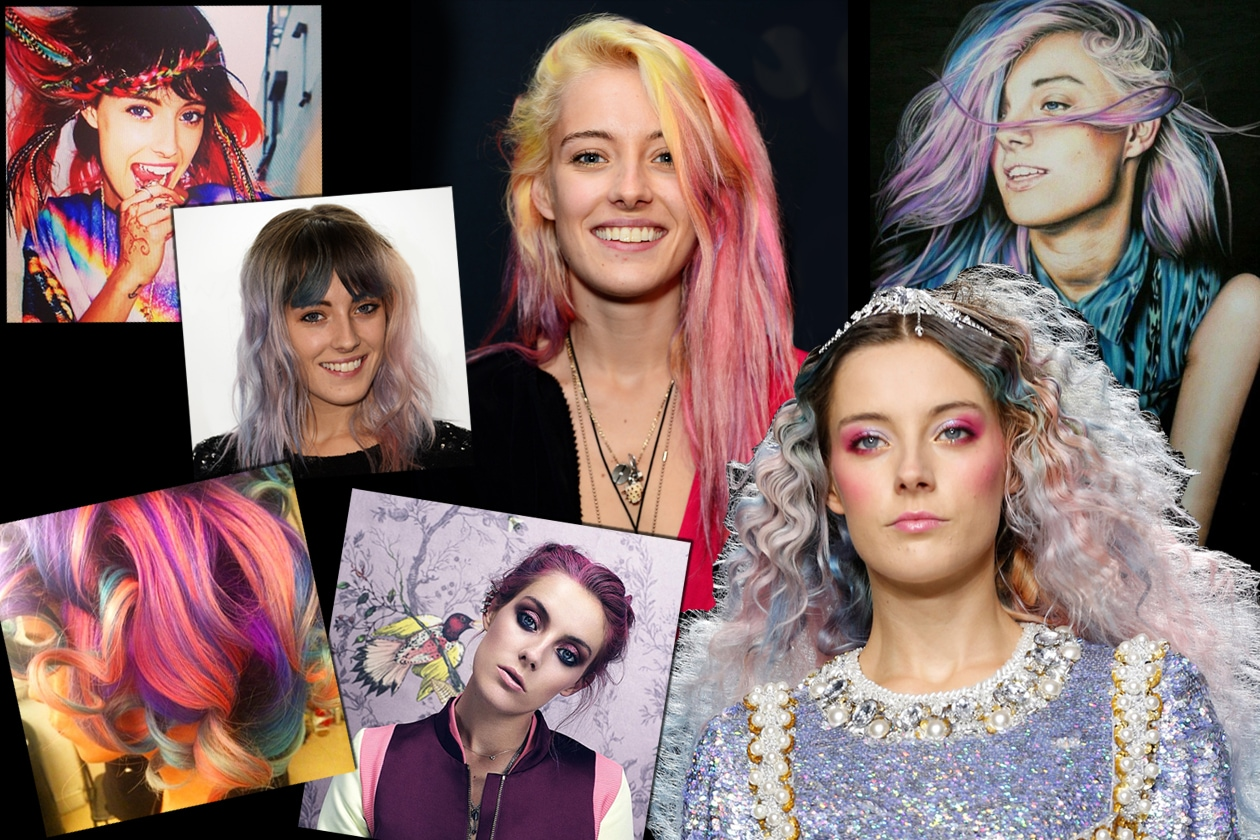 CHLOE NORGAARD: ROCK ATTITUDE AND RAINBOW HAIR