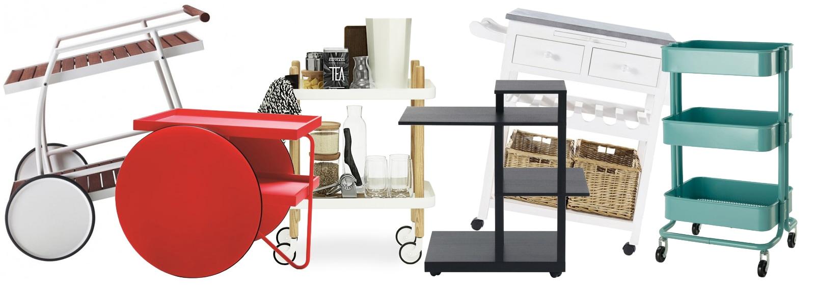 Carrelli multiuso: la comodità incontra il design - Grazia