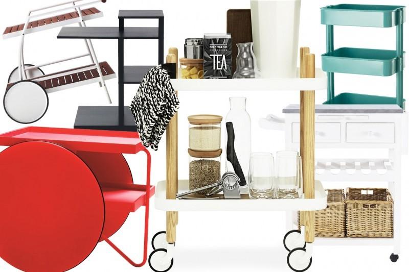 Carrello design bline carrello contenitore boby social design magazine with carrello design - Carrello cucina design ...