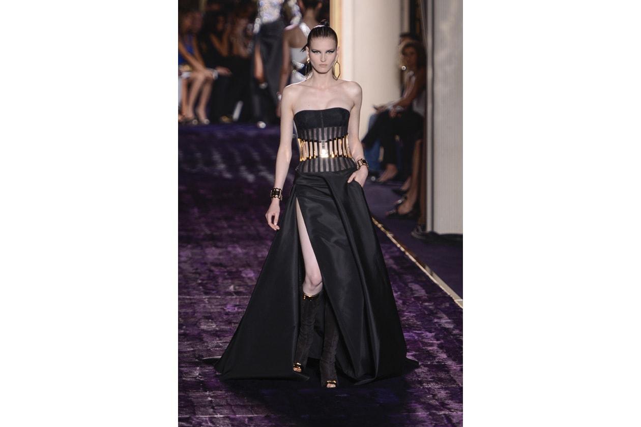 haute couture = abiti lunghi