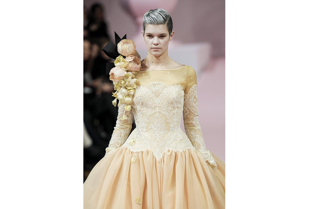 haute couture = fiori