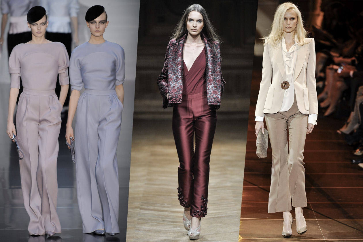 haute couture = pantaloni