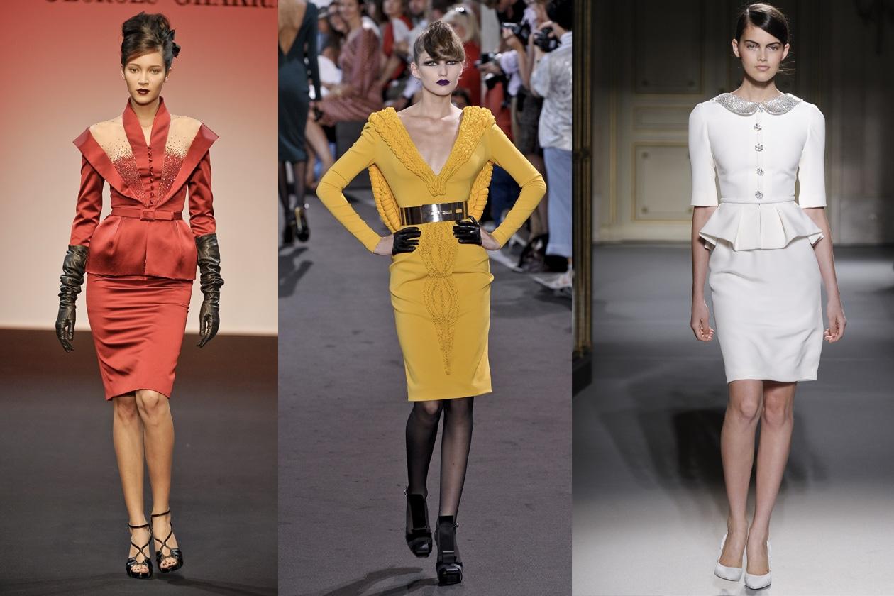 haute couture = tailleur