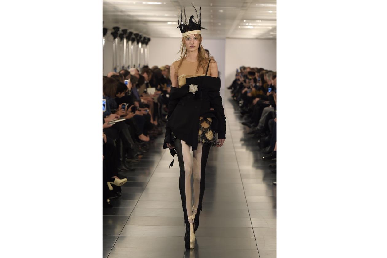 haute couture = teatralità