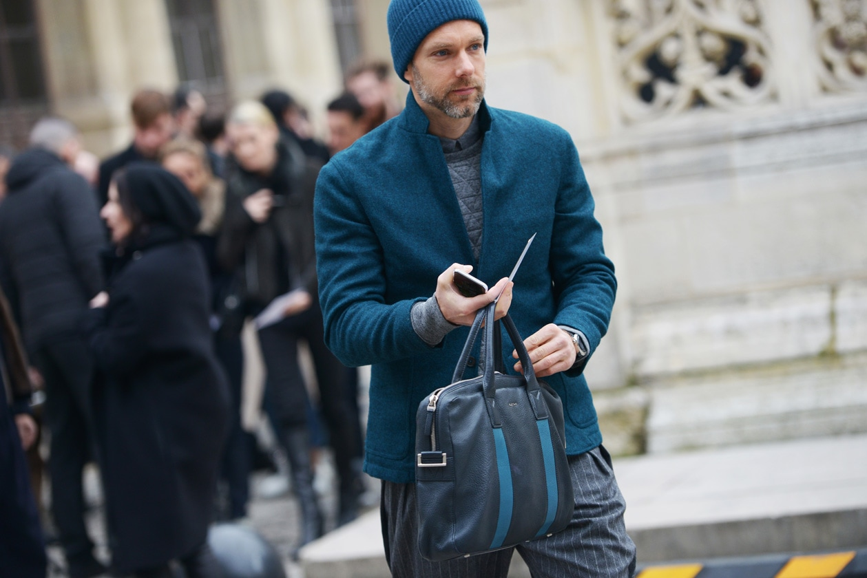 Paris Men Fashion Week 2015: il meglio dello street style