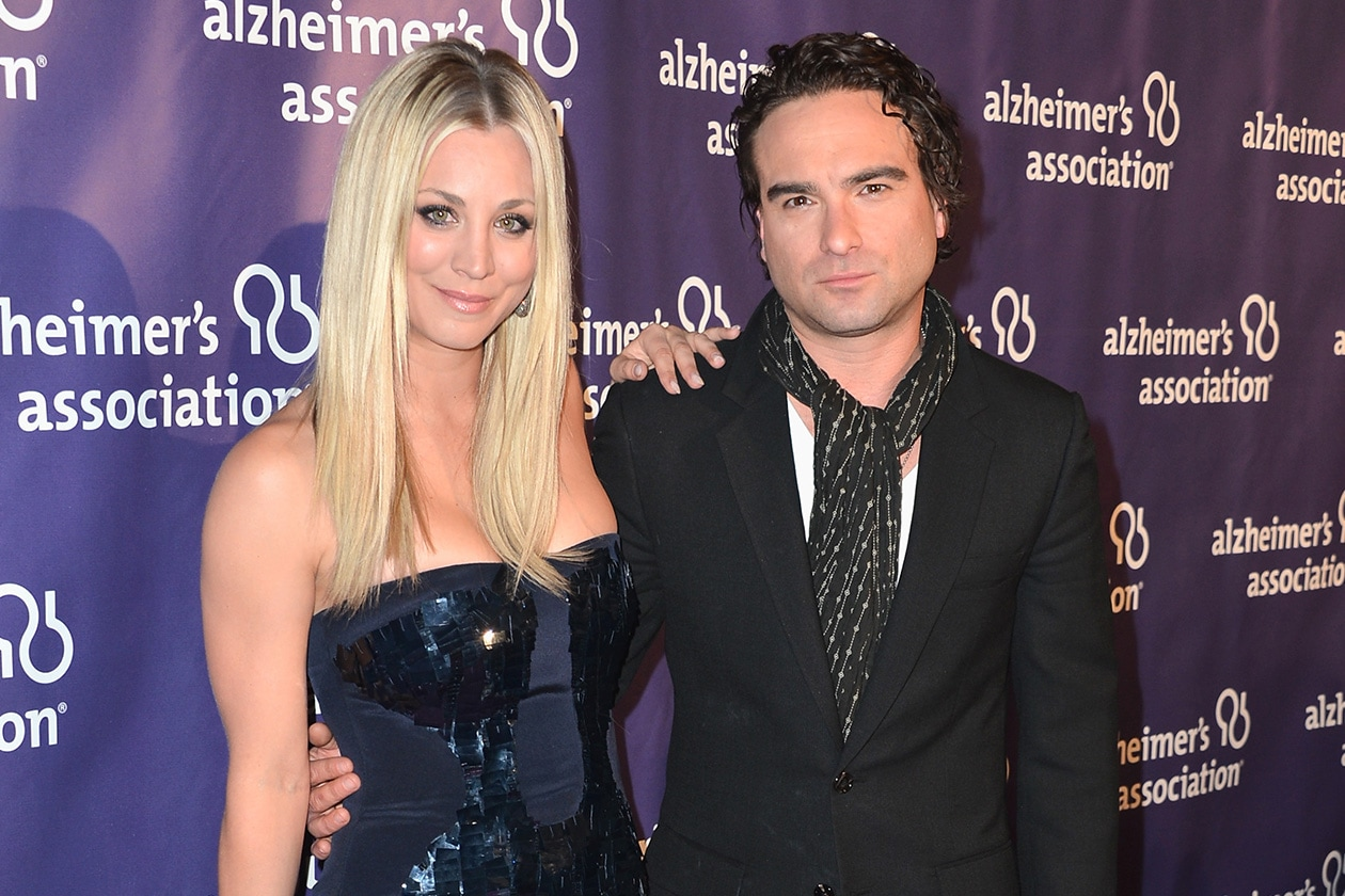 Kaley Cuoco e Johnny Galecki
