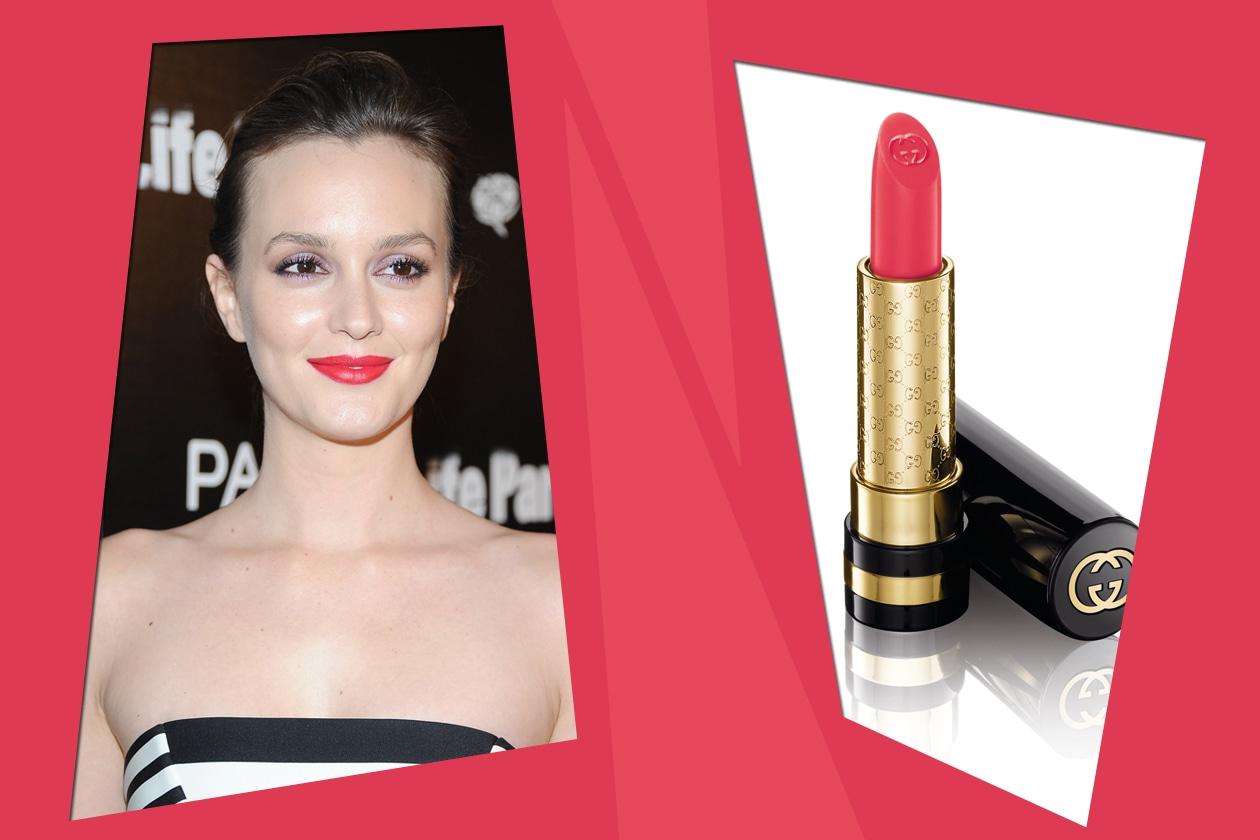 Bold Lips: Leighton Meester