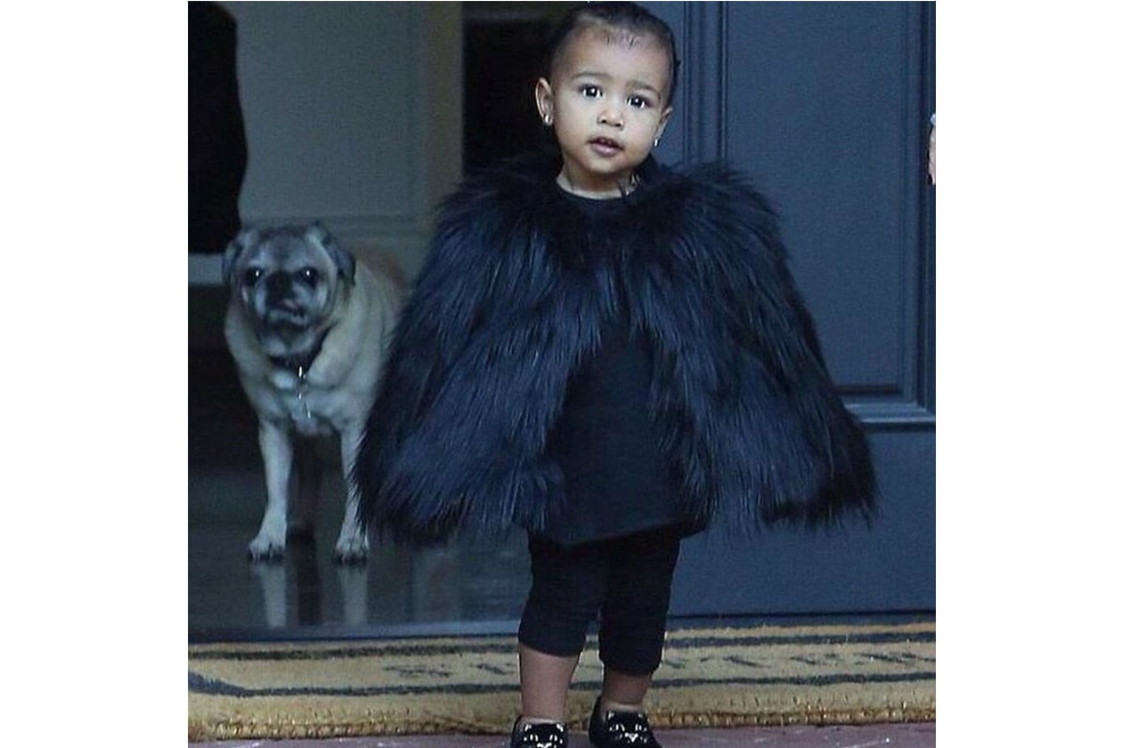 North West, figlia di Kim Kardashian e Kanye West