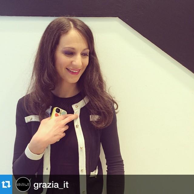 #Repost @grazia_it @larmadiodeldelitto è la guest star della nostra serata #getonstageYSLbeauty a #Torino! #grazialovesYSL