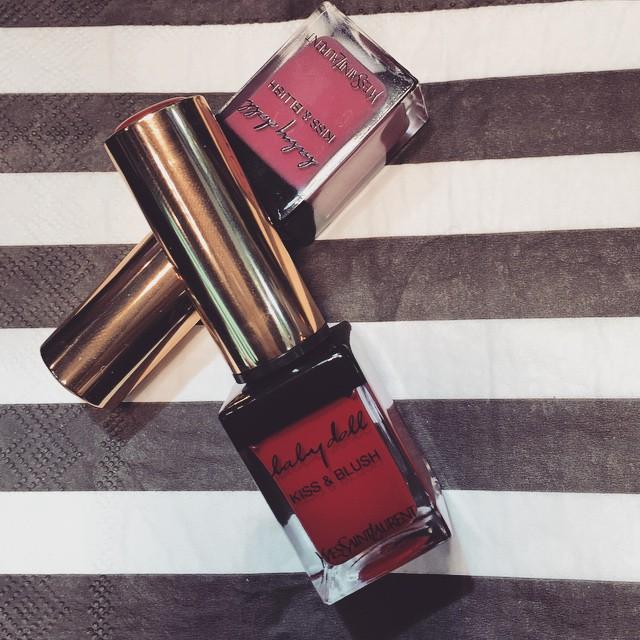 #getonstageyslbeauty Le tinte per labbra e guance @yslbeauty @sephoraitalia