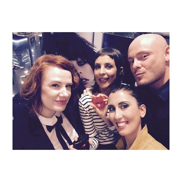#getonstageyslbeauty #grazialovesysl amazing team up! @sephoraitalia @yslbeauty