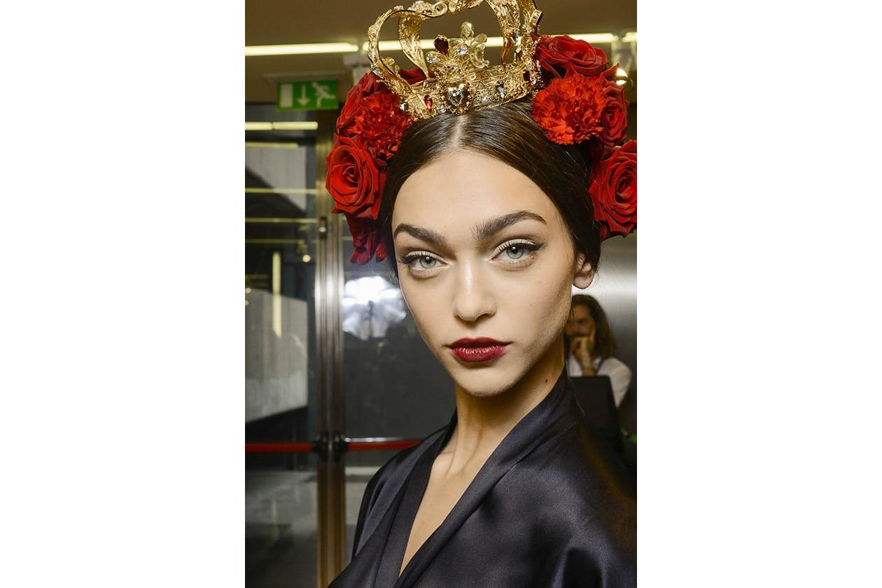 ACCESSORI CAPELLI CON I FIORI: Dolce & Gabbana