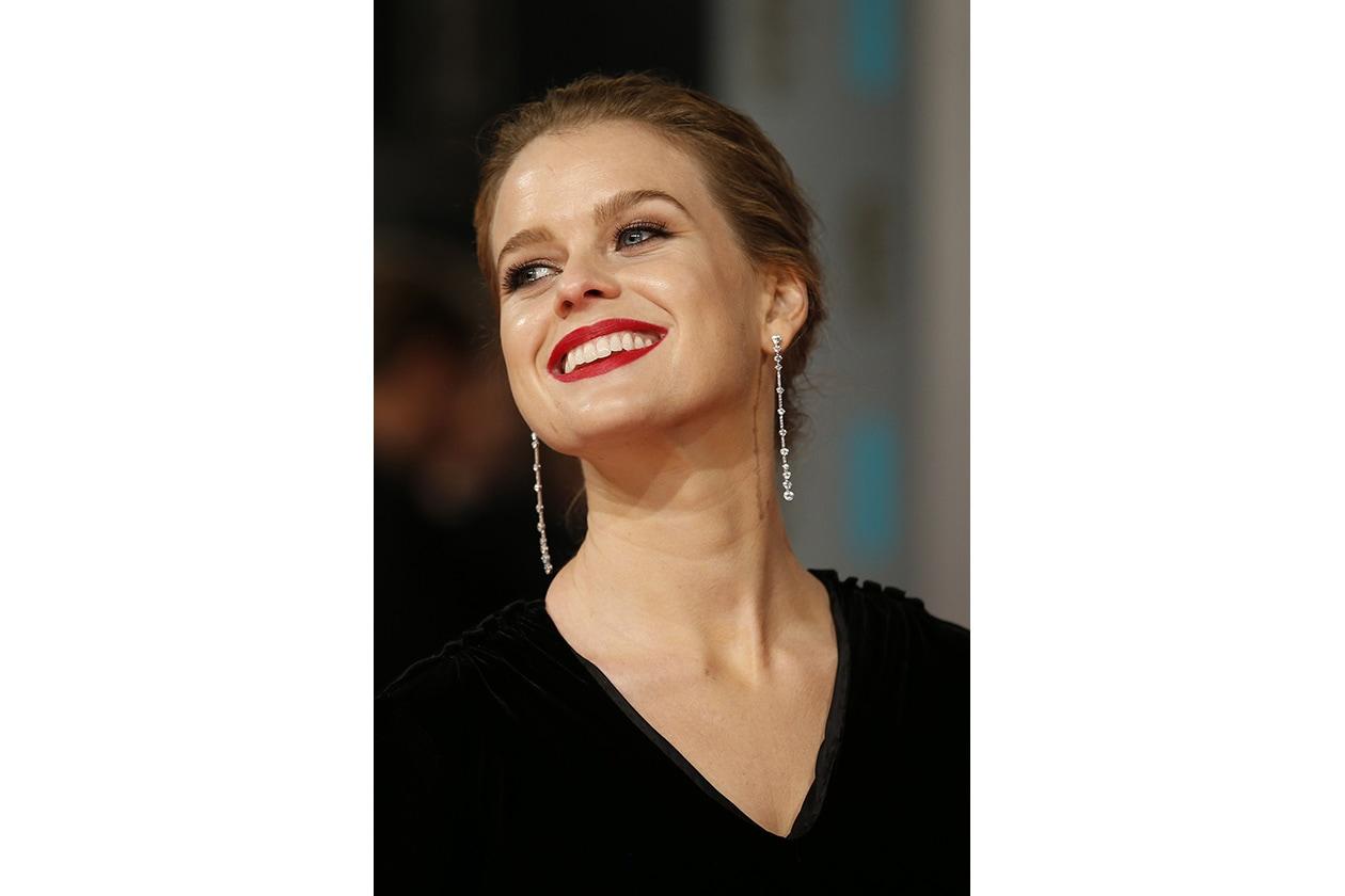 BAFTA BEAUTY LOOK: Alice Eve
