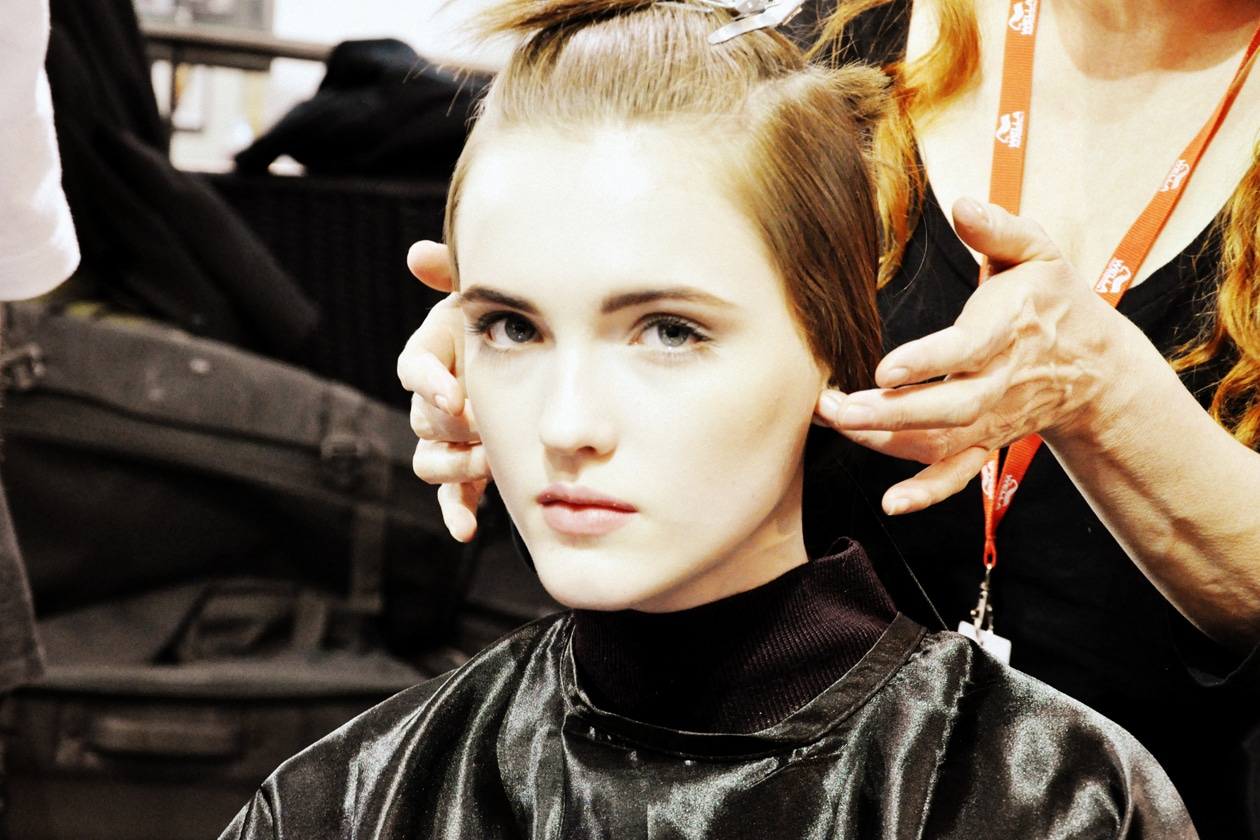 Antonio Marras Autunno/Inverno 2015-16: il backstage beauty&hair