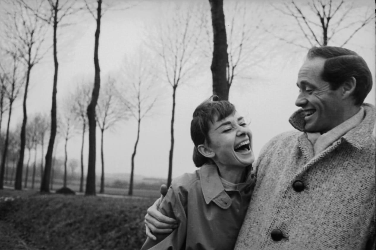 Audrey Hepburn; Mel Ferrer