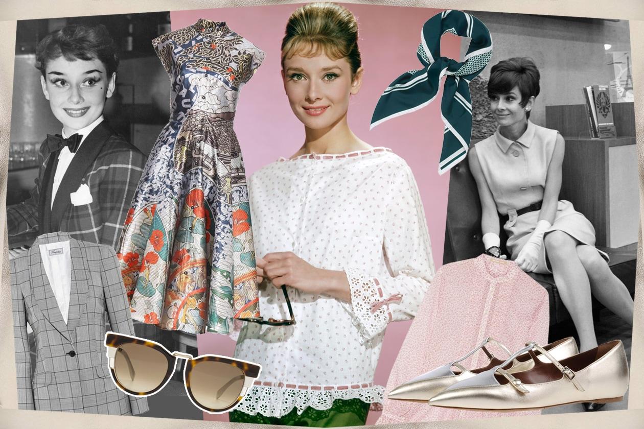 Audrey Hepburn e il suo inconfondibile stile anni 50