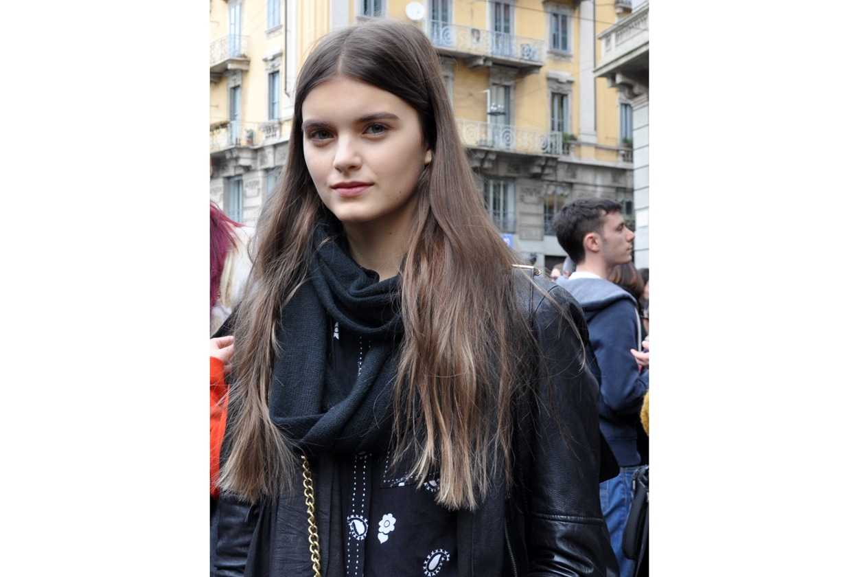 BEAUTY ON THE STREETS: CAPELLI BRONDE E RIGA IN MEZZO