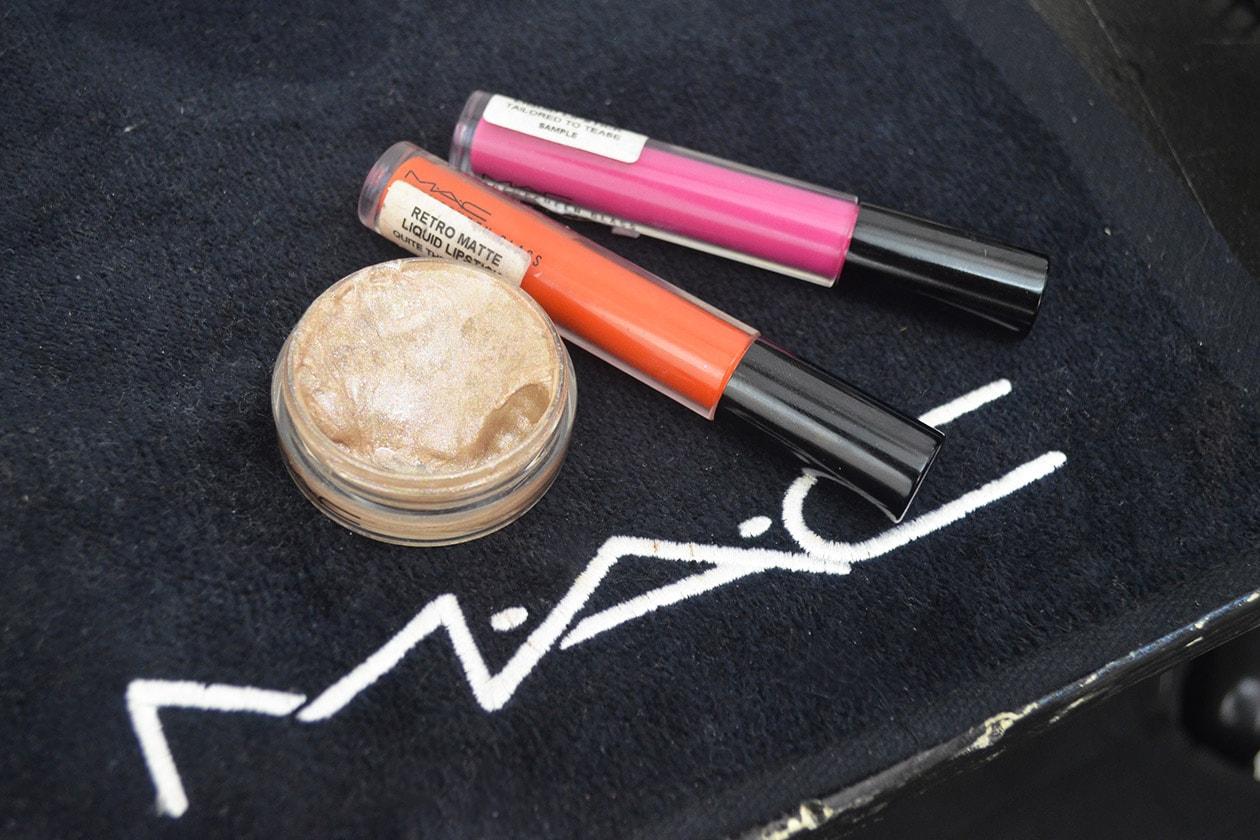 Backstage MSGM A/I 2015-16: i prodotti per il make up