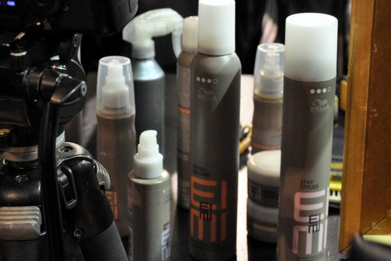 Backstage sfilata Antonio Marras: i prodotti utilizzati per l'hair styling