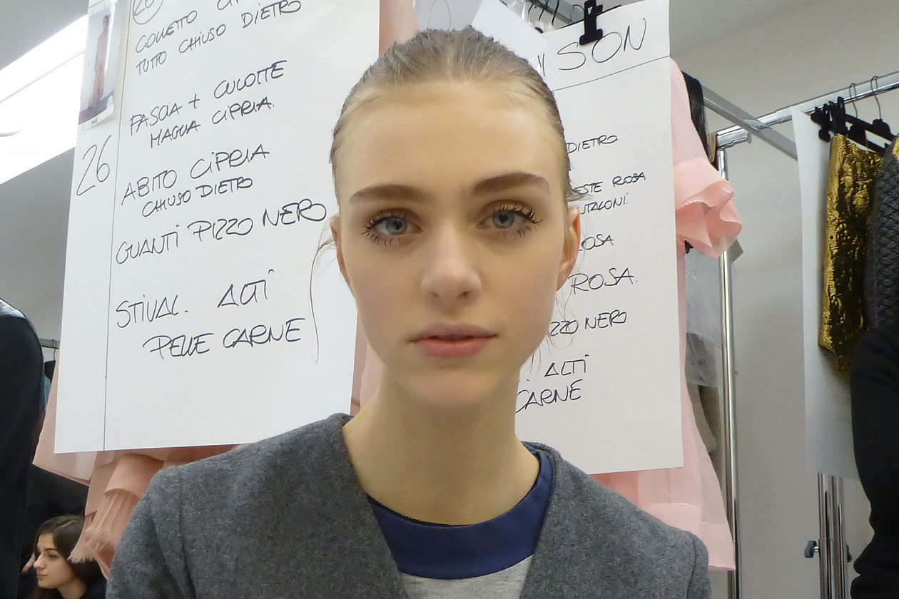 Backstage sfilata N°21: Soft make up