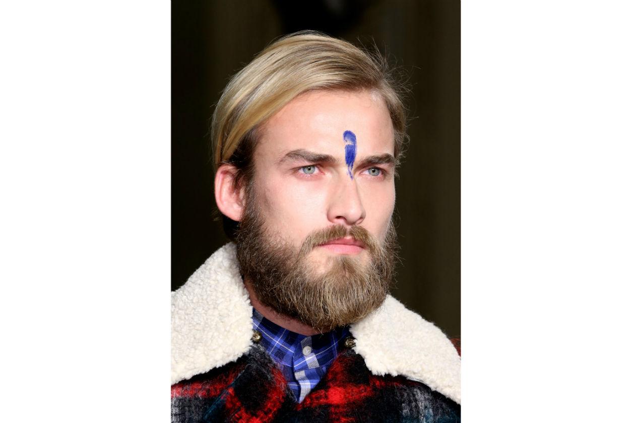 """Barba piena non significa barba incolta: utilizzate prodotti ad hoc e prestate massima cura alla """"manutenzione"""" (Stella Jean)"""