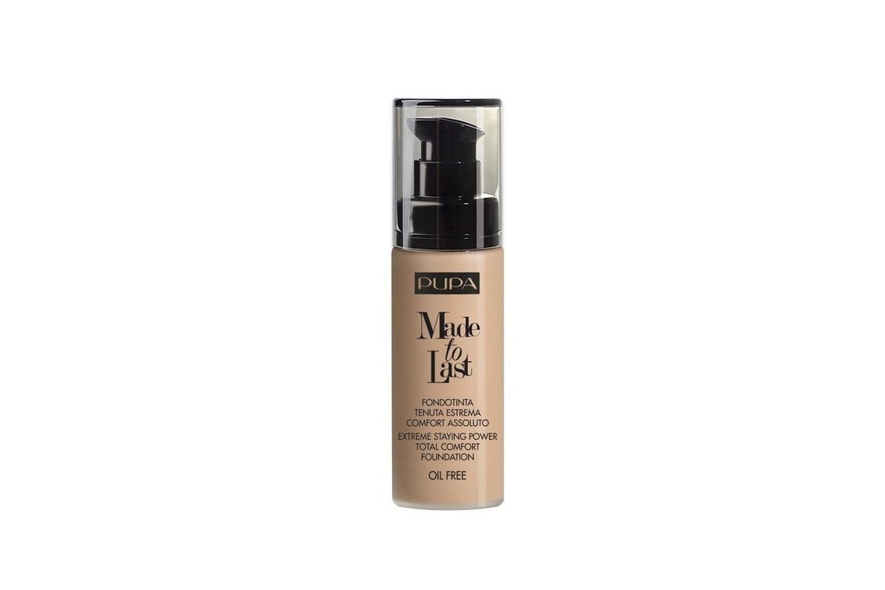 Base viso: Pupa Made to Last Foundation