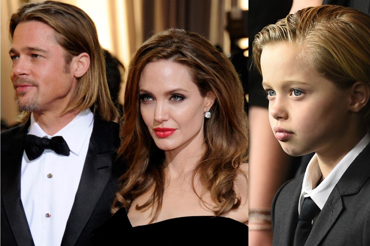 Brad Pitt, Angelina Jolie e Shiloh Jolie-Pitt
