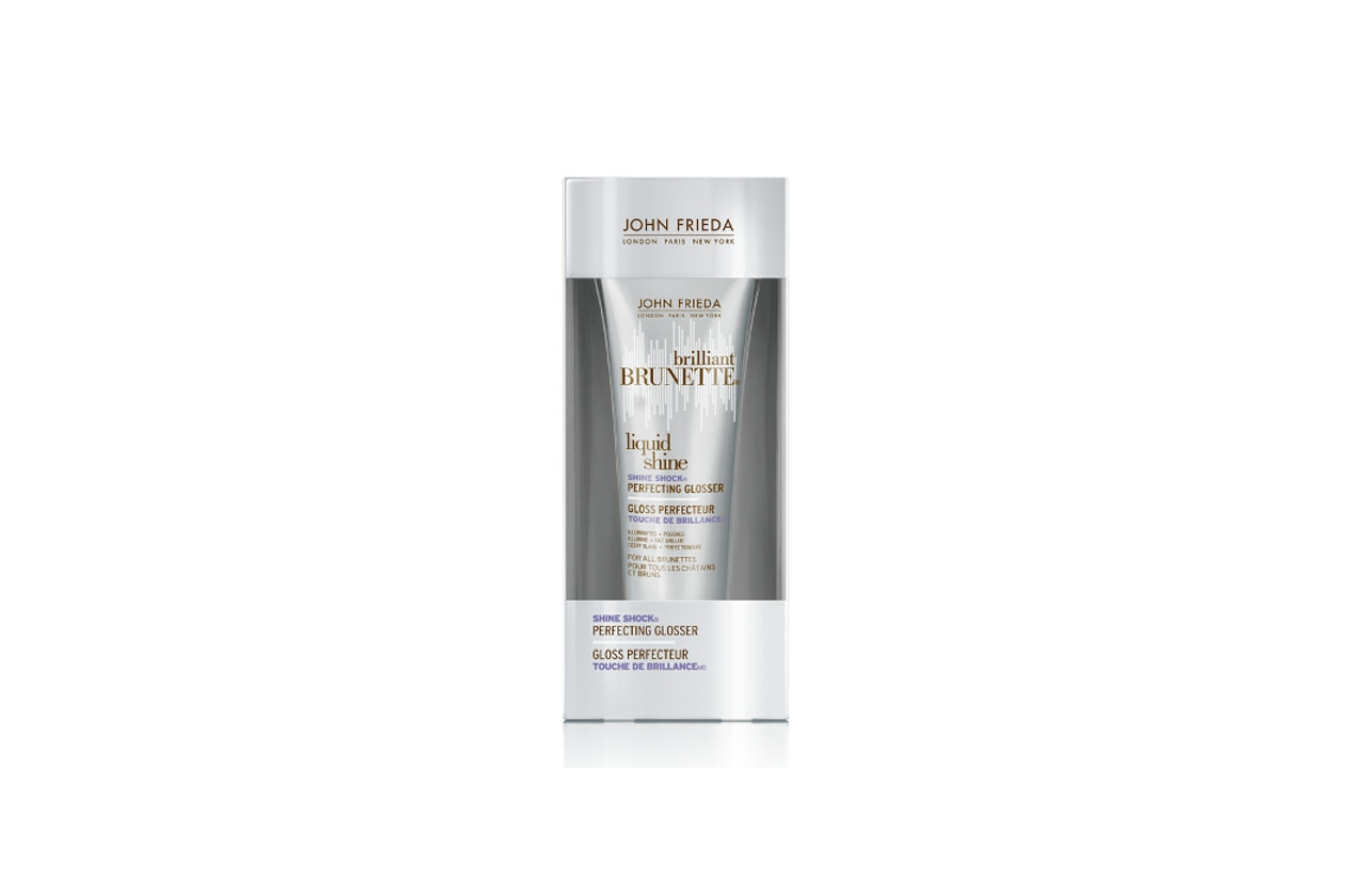 CAPELLI LUCIDI: John Frieda Brilliant Brunette Liquid Shine Shine Shock Perfecting Glosser