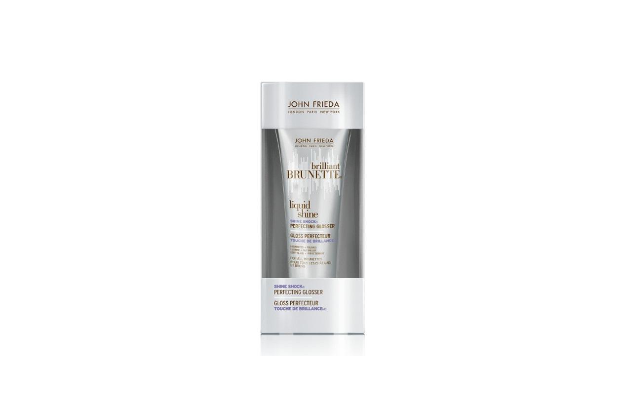 CAPELLI LUCIDI: John Frieda Brilliant Brunette Liquid Shine Shine Shock Perfecting Glosser