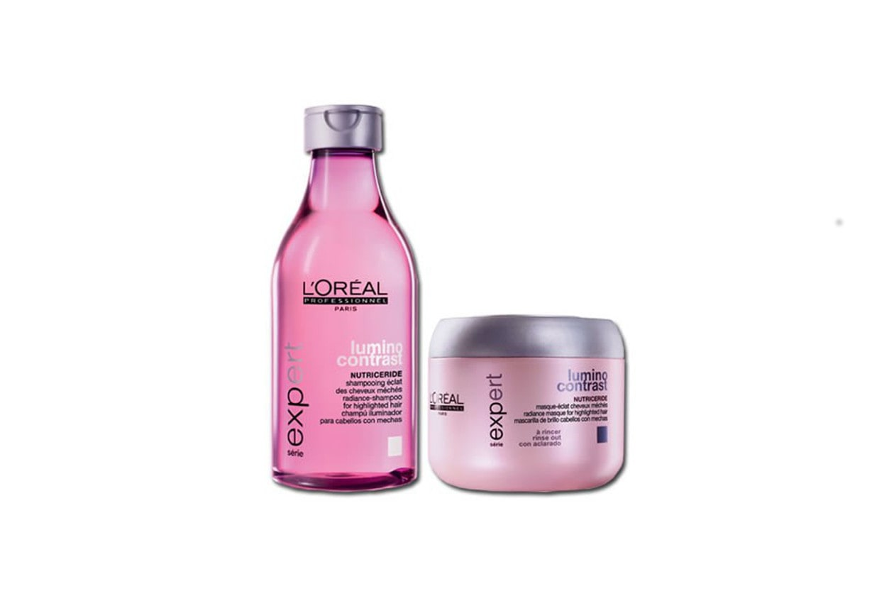 CAPELLI LUCIDI: L'Oréal Professionnel Lumino Contrast