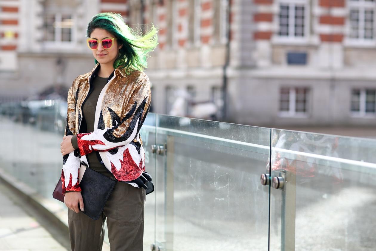 Capelli colorati: dallo street style di Londra
