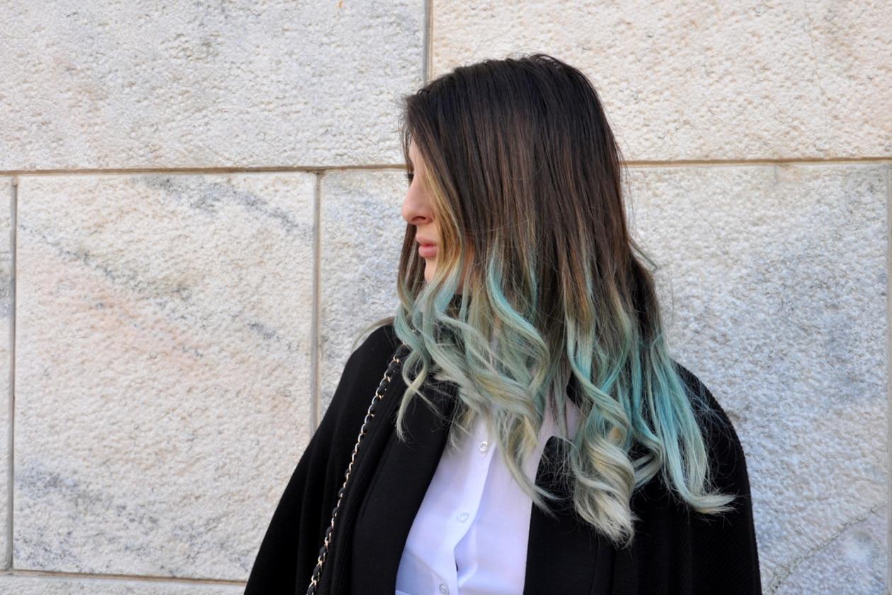 Capelli colorati: dallo street style di Milano