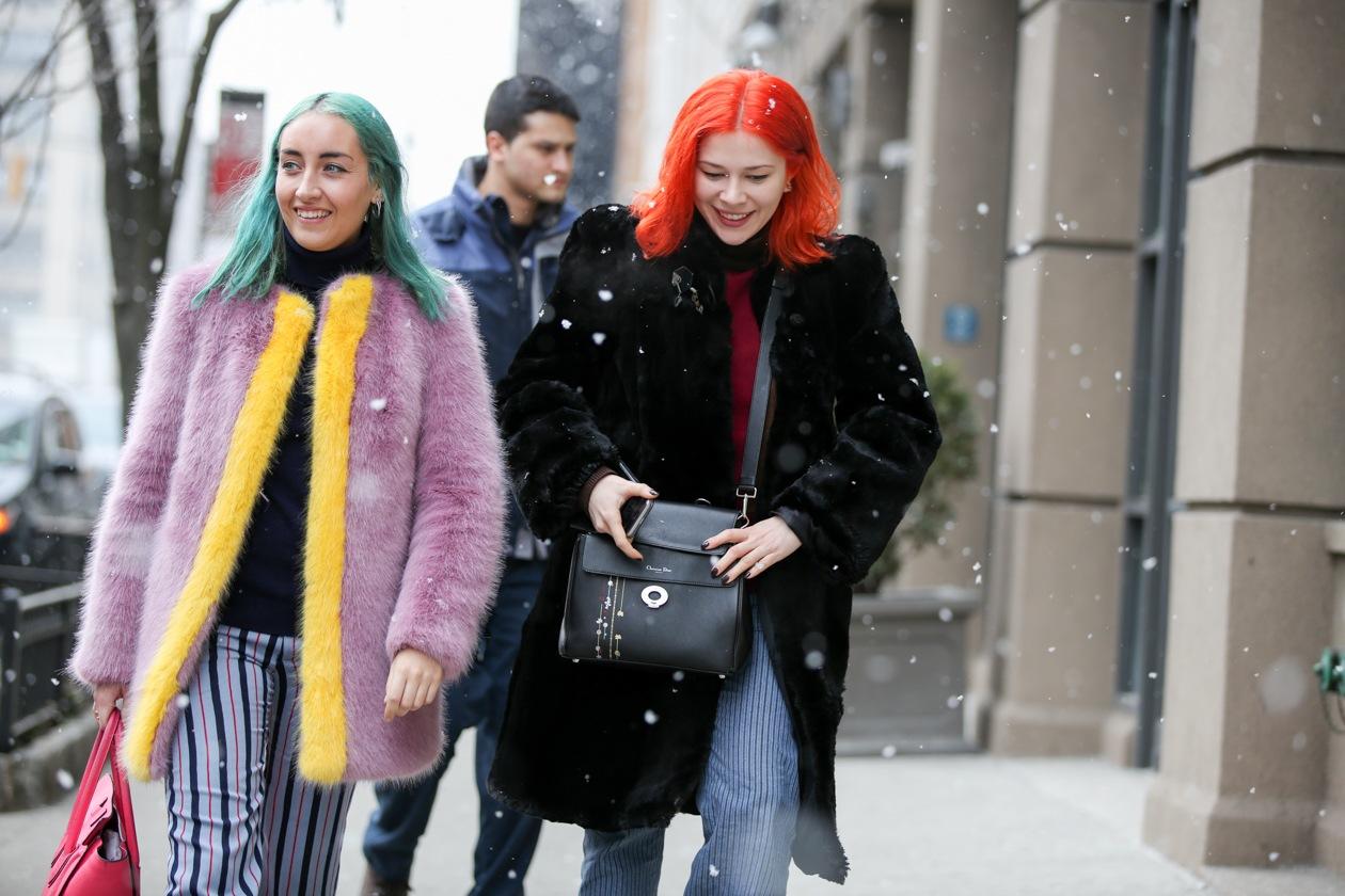 Capelli colorati: le tendenze dallo street style