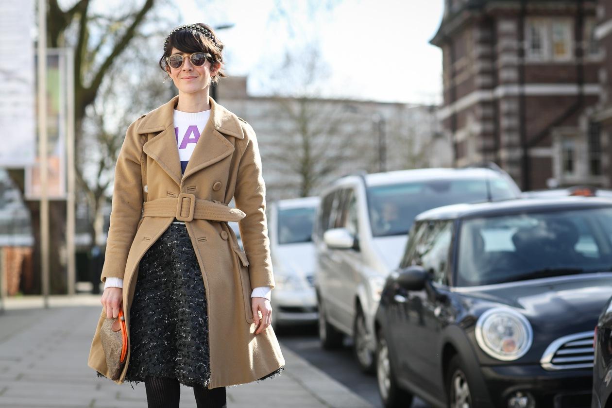 Capelli con frangia: dallo street style a Londra