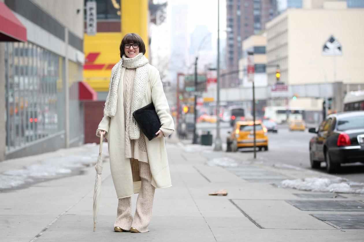 Capelli con frangia: dallo street style a New York
