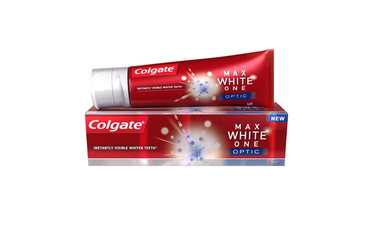 Come avere denti più bianchi: Colgate Max White One Optic
