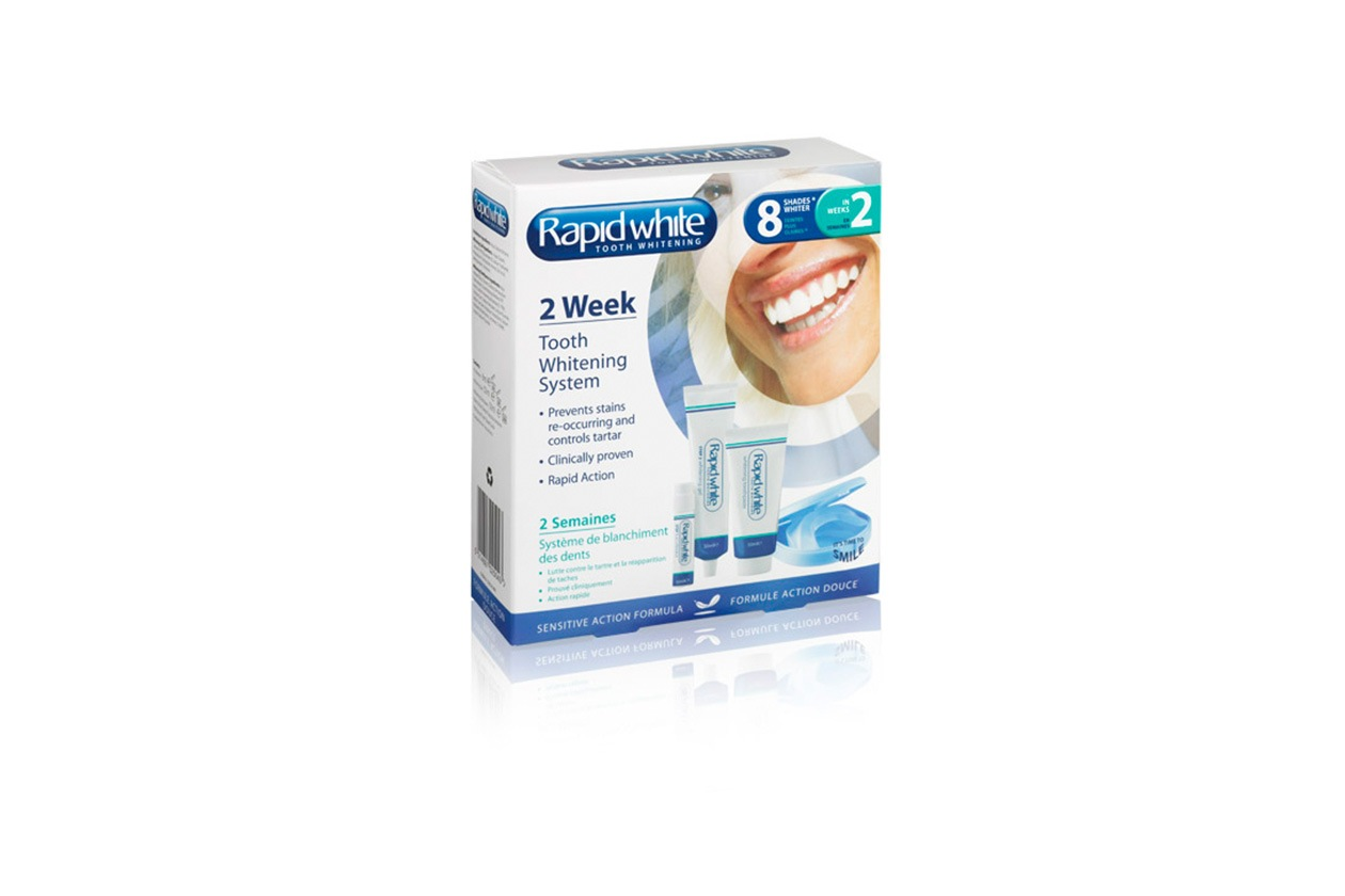 Come avere denti più bianchi: Rapid White 2 Week Tooth Whitening System