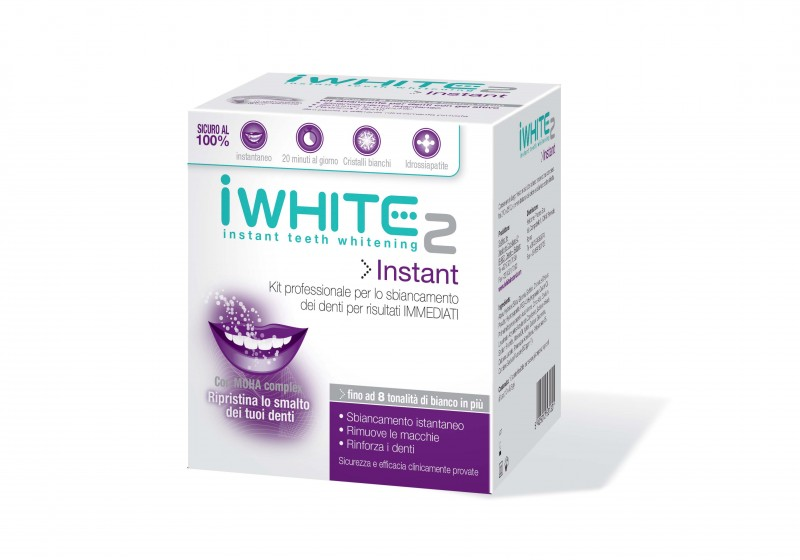 Come avere denti più bianchi: iWhite Instant2