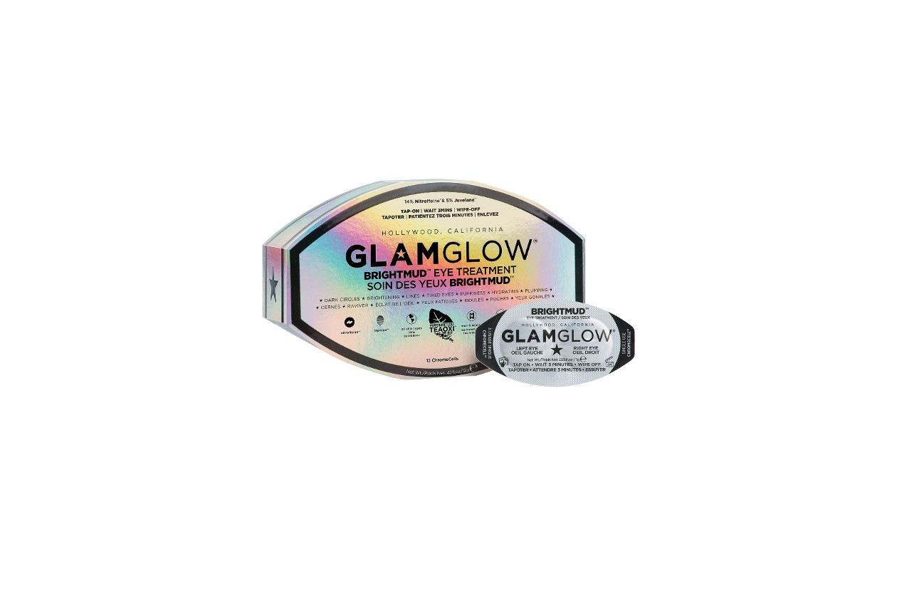 Come preparare un bagno rilassante con prodotti beauty: GlamGlow BrightMud Eye Treatment