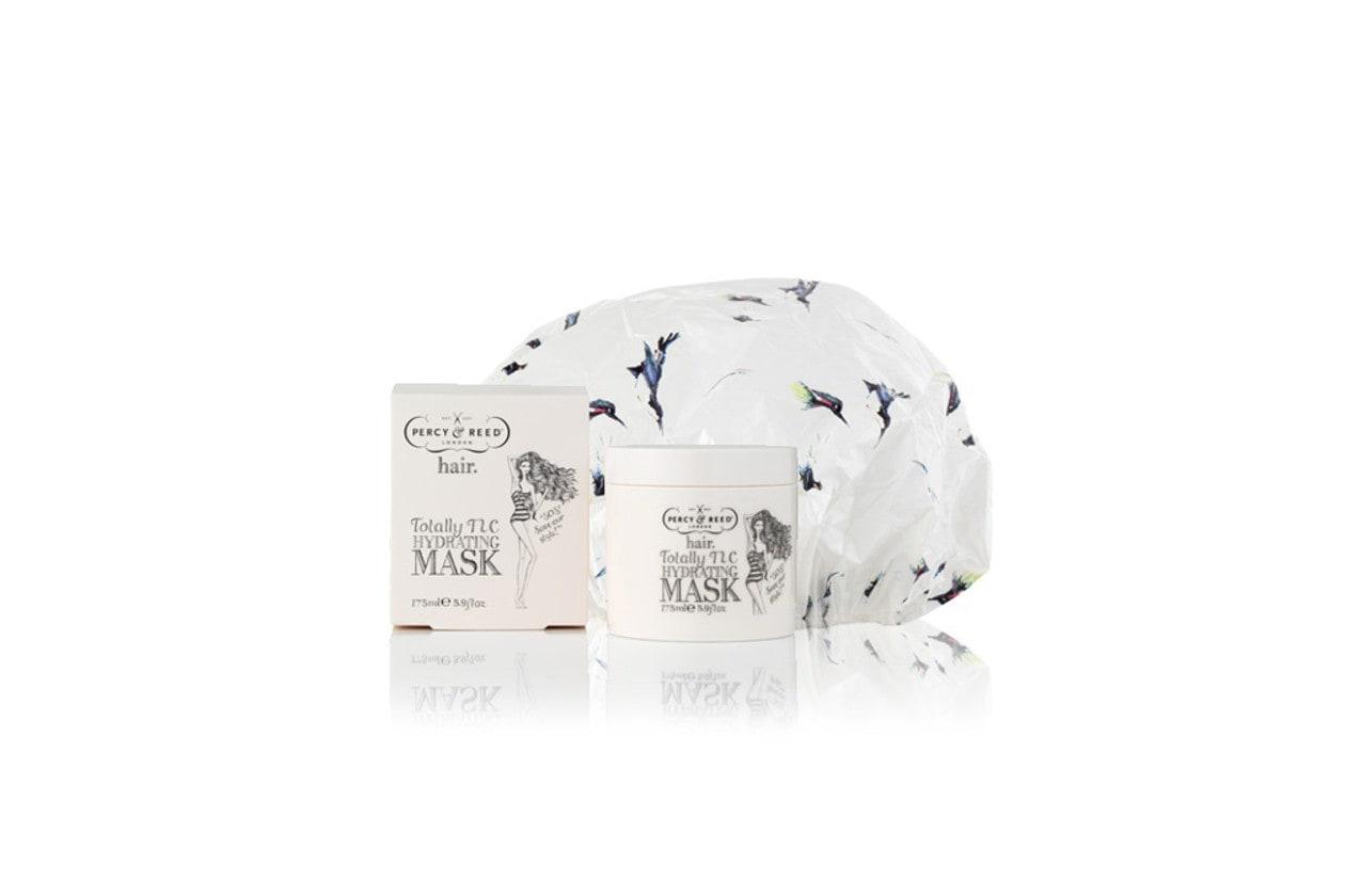 Come preparare un bagno rilassante con prodotti beauty: Percy & Reed Totally TLC Hydrating Mask