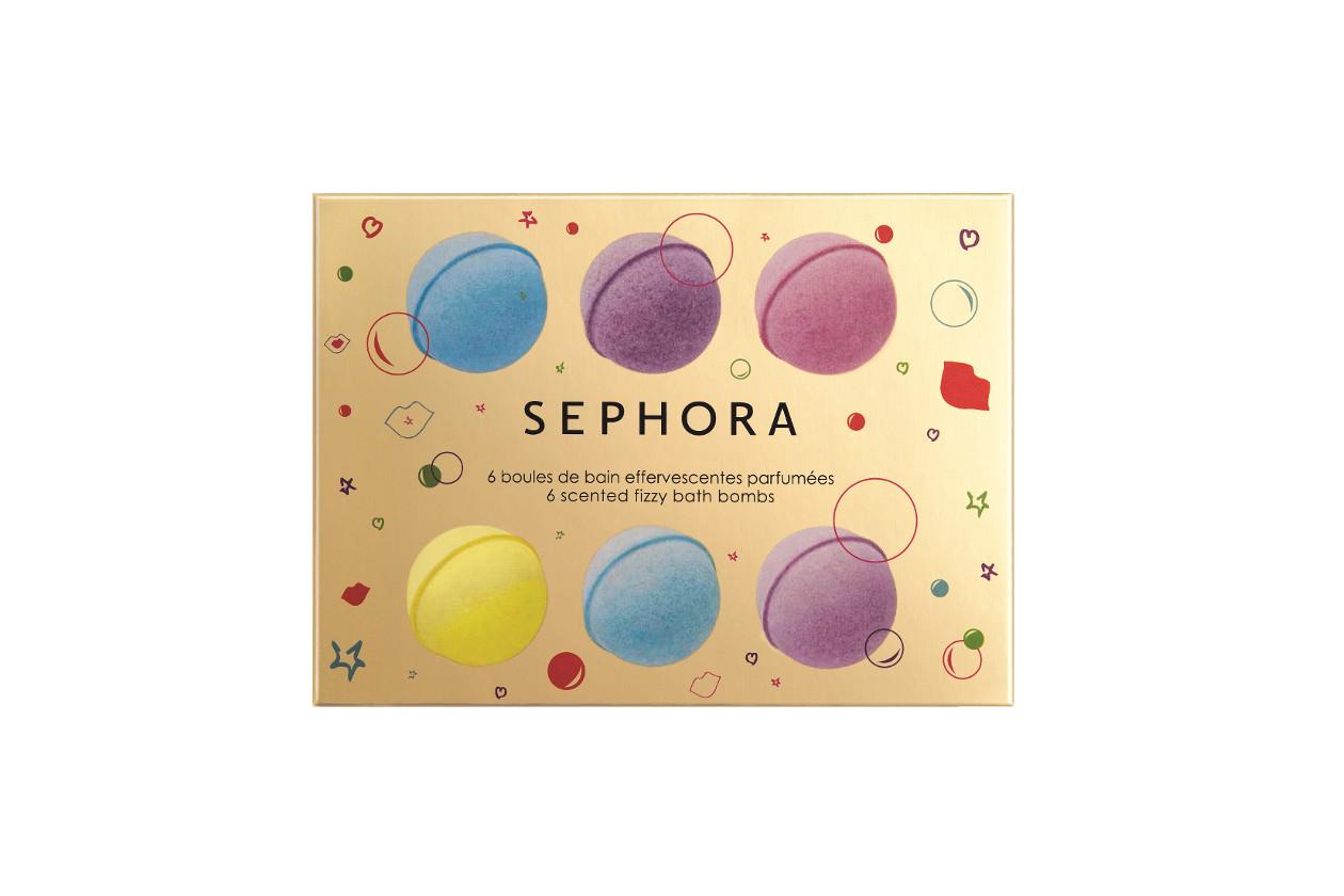 Come preparare un bagno rilassante con prodotti beauty: SEPHORA 6 Scented Fizzy Bath Bombs