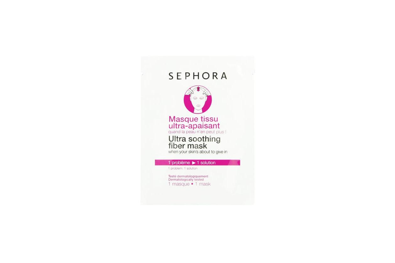Come preparare un bagno rilassante con prodotti beauty: SEPHORA Ultra soothing fiber mask